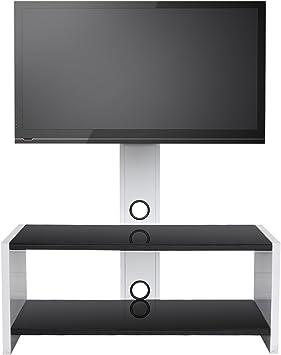SevenFanS - Soporte universal giratorio de cristal para televisor ...