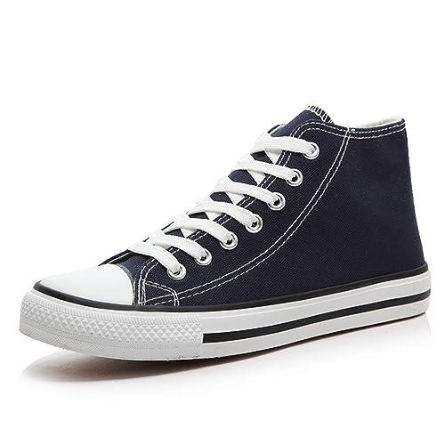 Zapatillas Casual Cordones Zapatos Mocasines Zapatos De Zapatos De Lona Unisex: Amazon.es: Zapatos y complementos
