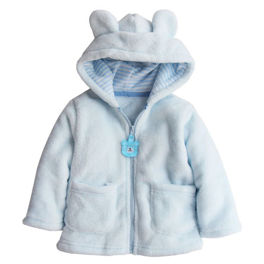 c749ce5375cd Amazon.com  Unisex Baby Boys Girls Fleece Hoodies Toddlers Winter ...