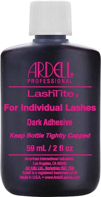 b9cdbc1838f Amazon.com : Ardell Lashtite Adhesive, Dark, 2 Fluid Ounce : Beauty