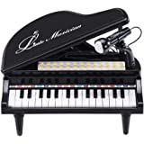 BAOLI 31 Keys Mini Playing with Microphone Piano for Kids Connect Mp3 Electronic Organ Music Keyboard Colorful Rhythm…
