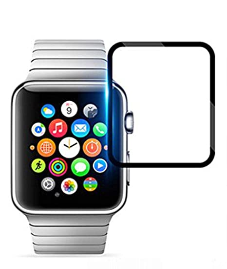 Vicstar Verre Trempé pour Apple Watch 4 44mm, Apple Watch 4 44mm Protection D