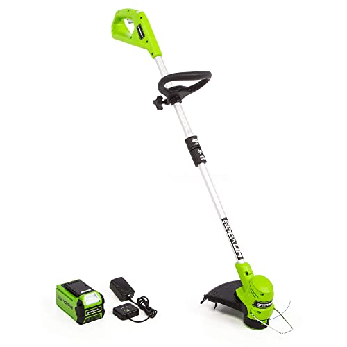 Greenworks 2111702 40-Volt 12-Inch String Trimmer