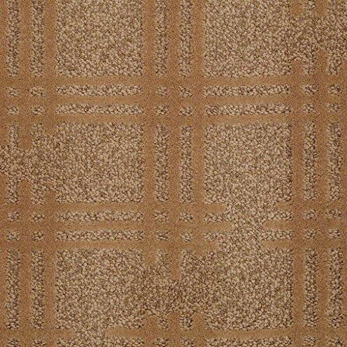 14' Nylon Lanterns - Off The Grid Cut & Loop 45 oz Pattern Indoor Area Rug (12'x14', Brass Lantern)