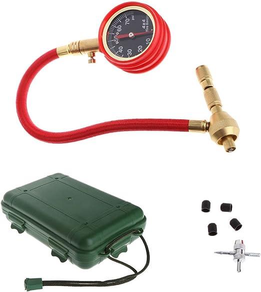 Medidor de presión de aire para neumáticos de Jenor, medidor de ...