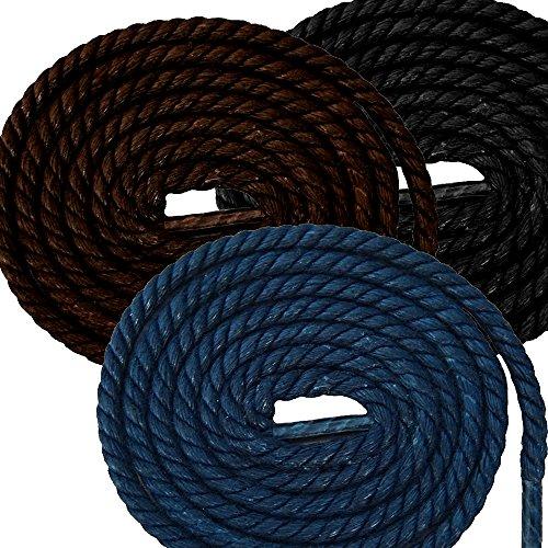 Shoeslulu-30-35-Premium-Round-Braided-Waxed-Hemp-Rope-Style-Shoelaces