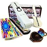 Pick-a-Palooza® DIY Guitar Pick Punch Mega Gift Pack - Premium Guitar Pick Maker - White