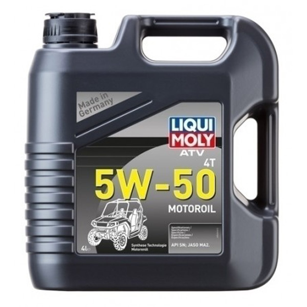 Liqui Moly 20214 LIQUI MOLY ATV/UTV 4T 5W50 4L
