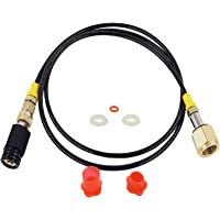 Universal CGA320 Hose Adapter Compatible with Soda Stream Machine, Soda Maker Hose Quick Connect CO2 Cylinder Tank, 60…