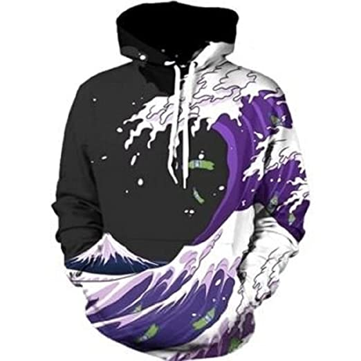 CARMELAA 3D Men Hoodie Hot Anime Sweatshirts With Hoody Cool Fashion Casual Women Men Long Sleeve