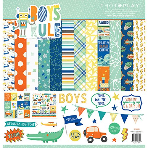 Paperboy Collection - Photo Play Paper Boys Rule PhotoPlay Collection Pack 12