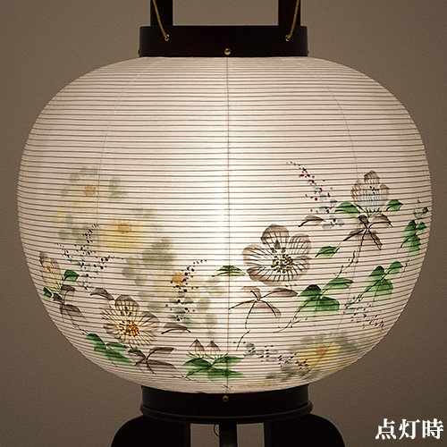 「提灯 火袋 絹」の画像検索結果
