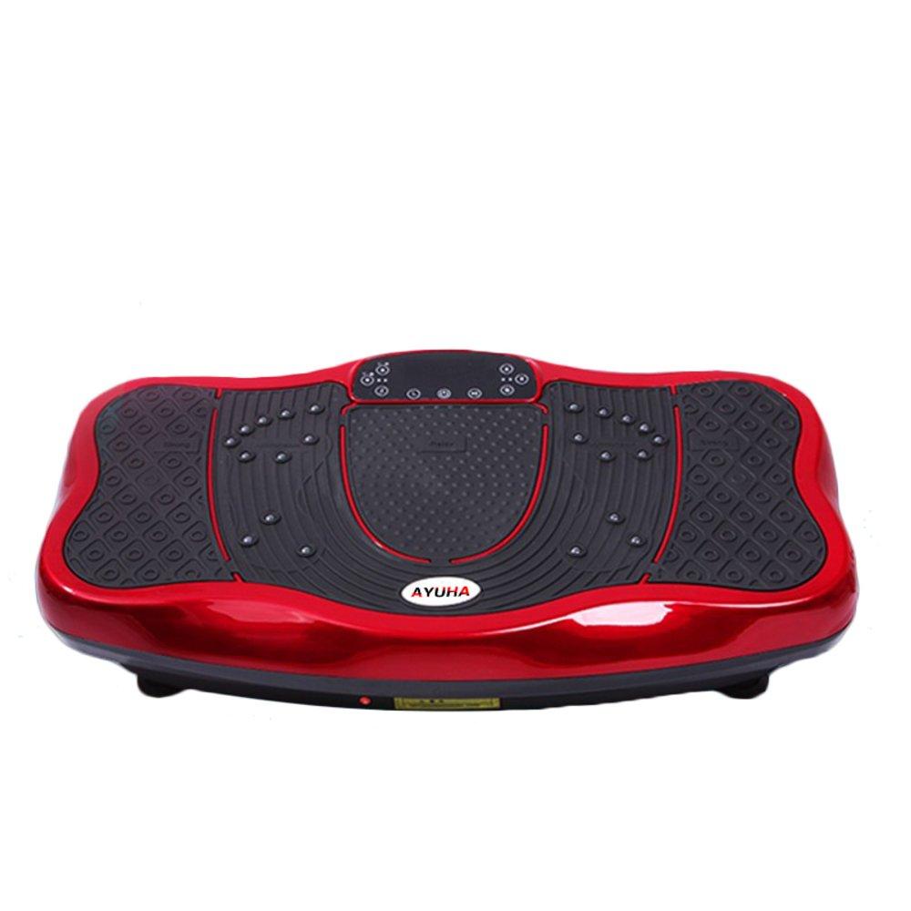 [1年保証] 3D 振動 フィットネスマシン バランスウェーブ カリーノ 【振動調節99段階】パワーウェーブミニ磁石足マッサージ 怠け者用の脂肪振動機 ダイエット用 シェイプアップ Bluetooth 音楽付き B0757FRJWQ ホワイト