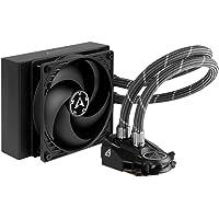 ARCTIC Liquid Freezer II 120 - Multi-Kompatible CPU Wasserkühlung, kompatibel mit Intel & AMD Sockeln, Lüftergeschwindigkeit: 200 - 1800 U/min. (PWM-gesteuert)