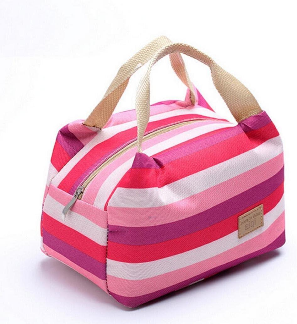 Bolsa para llevar comidas almuerzo,STRIR Bolsas t/érmicas porta alimentos bolsa de almuerzo de aislamiento