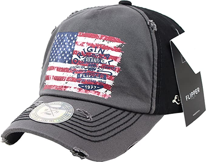 sujii Vintage STAR n STRIPE Gorra de Beisbol Baseball Cap Sombrero de Golf  gorra de Camionero Trucker Hat Charcoal  Amazon.es  Ropa y accesorios ab3f1bc4d96