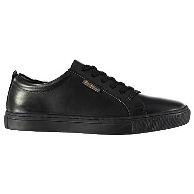 Ben Sherman Mickey Kinder Leder Turnschuhe Sneaker Freizeit Schuhe