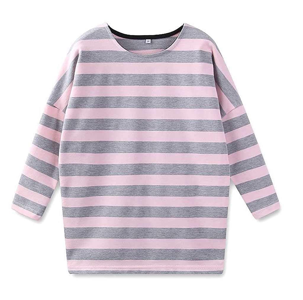 May zhang Cartoon Pure Cotton Long Sleeve Round Neck Casual Pullover Top Knit Sweater for Kid (Boys Girls)