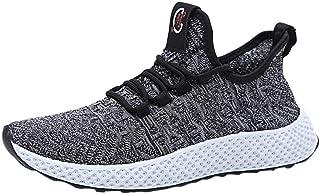 HCFKJ Scarpe Sportive Sneaker Scarpe da Corsa Sportive da Running da Uomo Sportive Traspiranti Antiscivolo