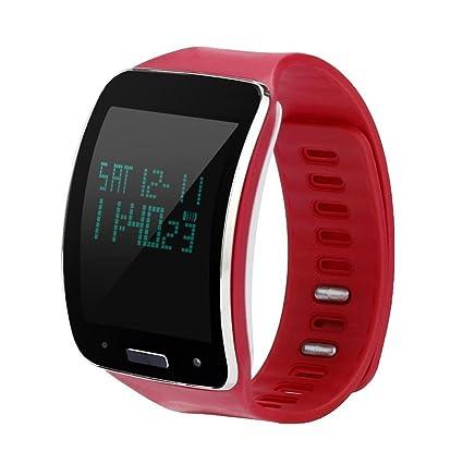 hunpta Replacement Reloj Pulsera de correa de muñeca para Samsung Galaxy Gear Fit (rojo)