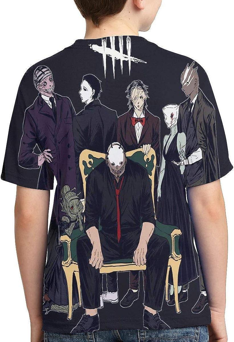 Lemonationop Dead by Daylight 3D Full Printed Boy T-Shirt Black