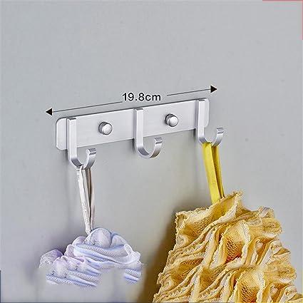 xiuxiandianju Barra de toalla de los muebles de cocina Toalleros Racks Baño Ganchos Baño Estantes Stands