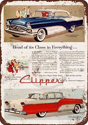 1955 Packard Clipper Vintage Reproduction Metal Sign for sale  Delivered anywhere in USA