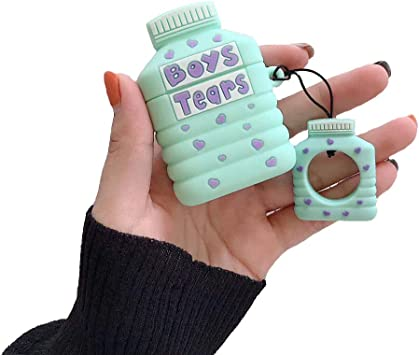 Amazon Com Airpods Case Boys Tears Mineral Water Bottle Case