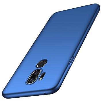 anccer Funda LG G7 ThinQ, Funda LG G7 [Serie Colorida] [Ultra-Delgado] [Ligera] Anti-rasguños Estuche para Carcasa LG G7 ThinQ/LG G7 (Azul Liso)