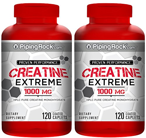 Creatine Monohydrate 1000 mg 240 Coated Caplets