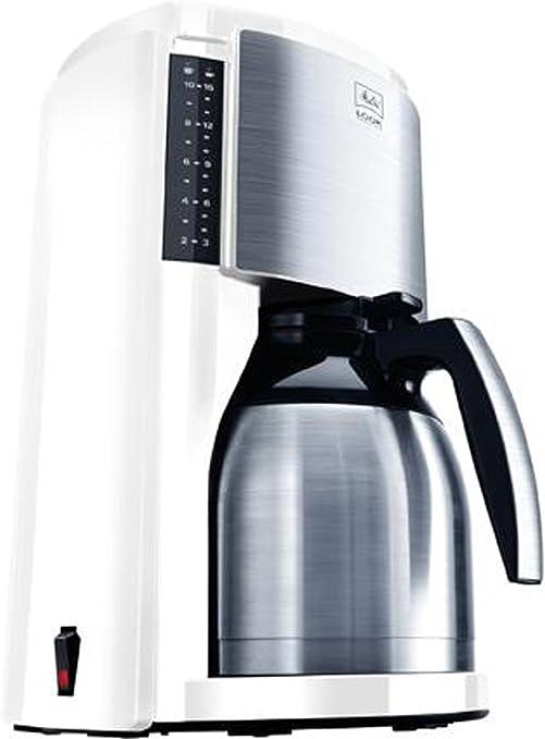 Melitta M661-WH SST Look Therm Sélection - Cafetera de goteo (acero inoxidable), color blanco: Amazon.es: Hogar