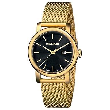 Wenger Urban Vintage Black Dial Stainless Steel Ladies Watch 011021120