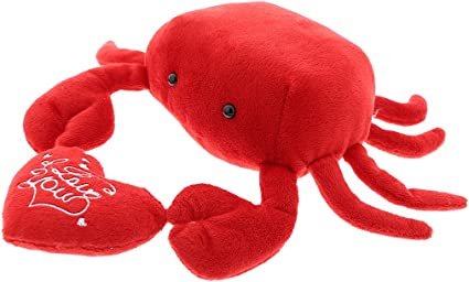 18 Inch Stuffed Animal Plush Crustacean by Tiger Tale Toys VIAHART Cora The Crab