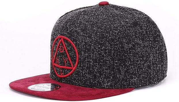 La jeunesse de broderie en coton Casquette De Baseball Garçons Filles Snapback Hip Hop Flat Hat