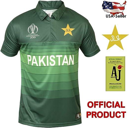 Worldcup Cricket Cricket T Shirt Pakistan T-Shirts, Pakistan team