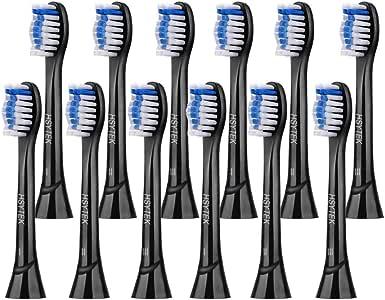 Cabezales de cepillo de repuesto para cepillo de dientes Philips Sonicare, Fit DiamondClean, ProtectiveClean 4300 5100, 6100, EasyClean, FlexCare, HealthyWhite de HSYTEK: Amazon.es: Salud y cuidado personal