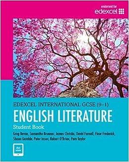 Edexcel International GCSE 9-1 English Literature Student
