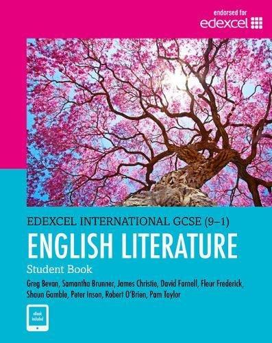 Edexcel International GCSE (9-1) English Literature Student Book: print and ebook bundle