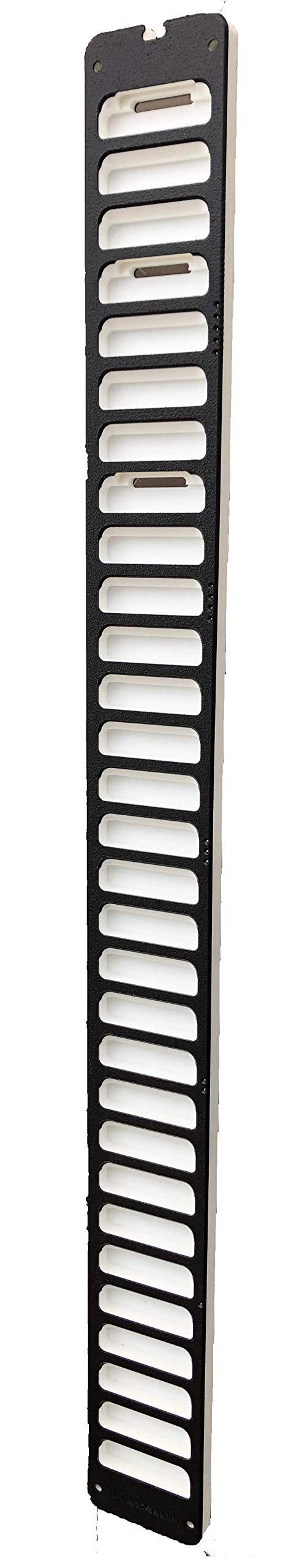 UELadder: The ONLY Shoulder Finger Ladder with an Over-The-Door Mount That Gives A Proper Stretch Anywhere (Black & White, 1)