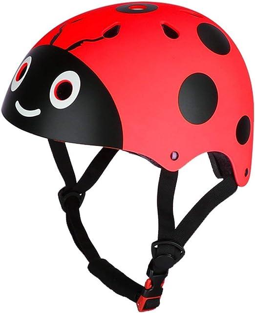 Casco para niños Ladybug Casco de bicicleta de calle Casco de ...
