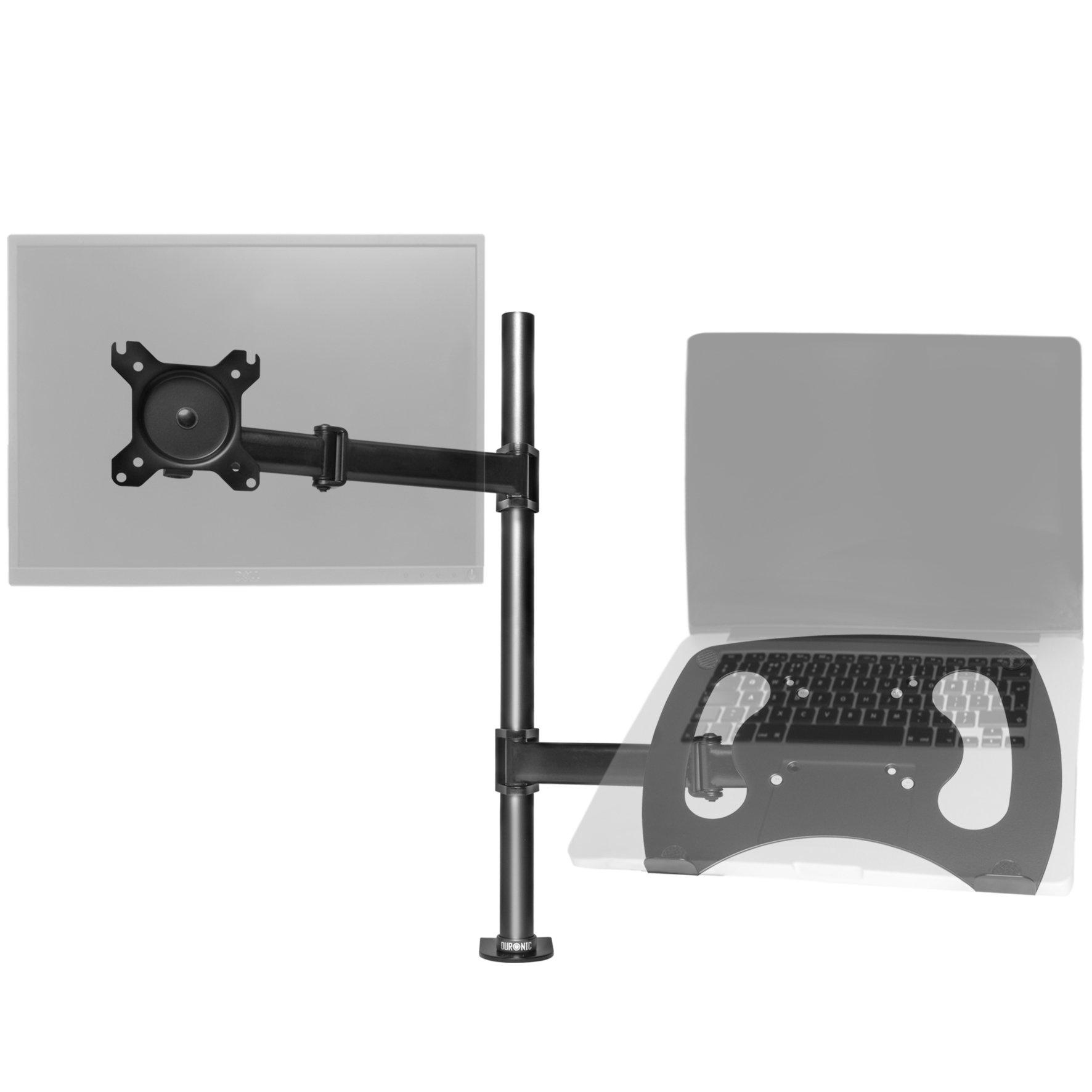 Duronic DM25L1X1 Support pour Un écran LCD LED pour Bureau avec Support pour  Ordinateur ou d8fed8a403aa