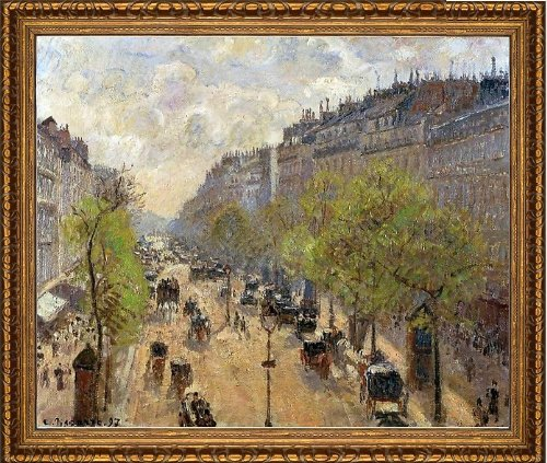 - Art Oyster Camille Pissarro Boulevard Montmartre: Spring - 20.05
