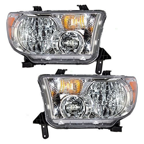 - Toyota Tundra Replacement Headlight Assembly - 1-Pair