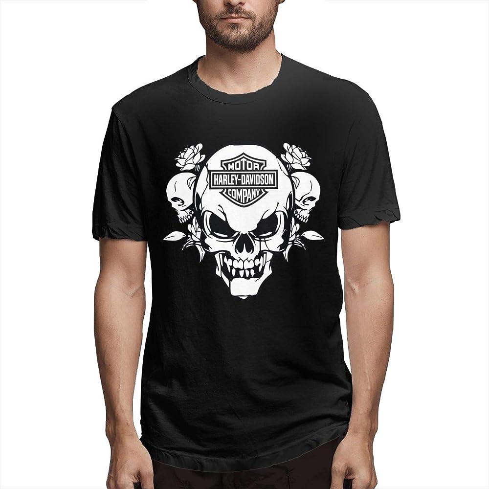 Camisa Harley Davidson Sportster Motocicleta Harley Davids Camiseta Casual de algodón para Hombre: Amazon.es: Ropa y accesorios