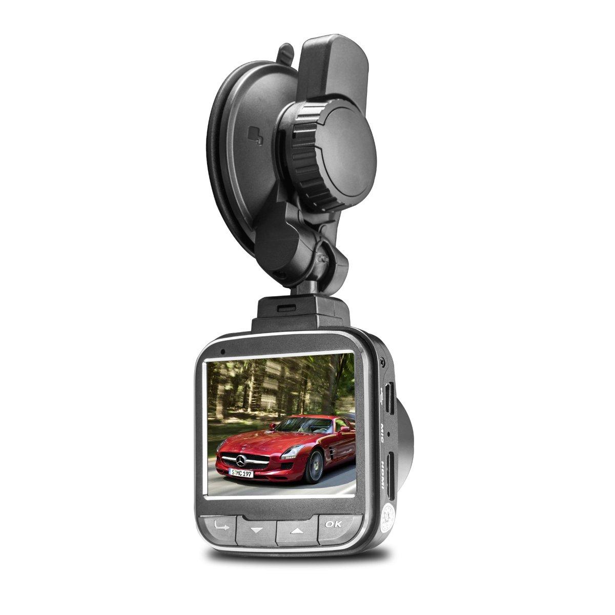 Loop Recording Driving Recorder with 3 LCD Screen Kamuue Dash Cam 1080P Full HD Car DVR Dashboard Camera G-Sensor Motion Detection WDR Driving Recorder with 3 LCD Screen