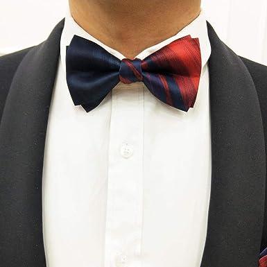 fjchyy Pajarita para hombres Boda Boda S Brothers Group Premium Vino azul Rojo Cuello Camisa Accesorios para el cuello Pajarita de moda: Amazon.es: Ropa y accesorios