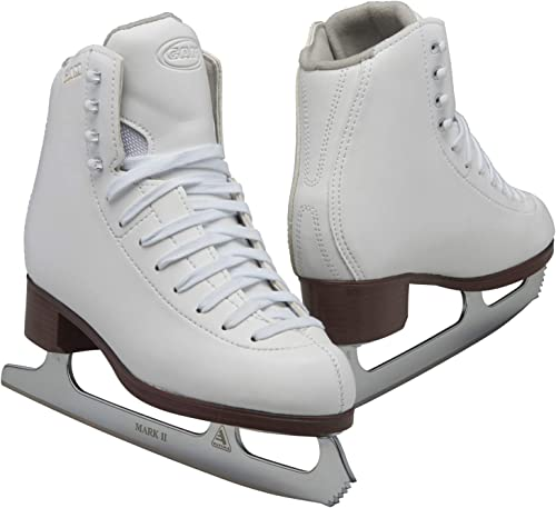 Jackson Ultima GAM Pirouette Womens and Girls White Figure Ice Skates