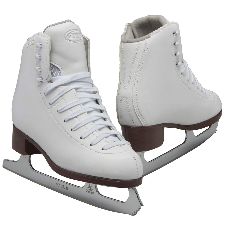 Jackson Ultima GAM Pirouette ホワイトフィギュア アイススケート靴 レディース&ガールズ  ADULT - Women 7.5