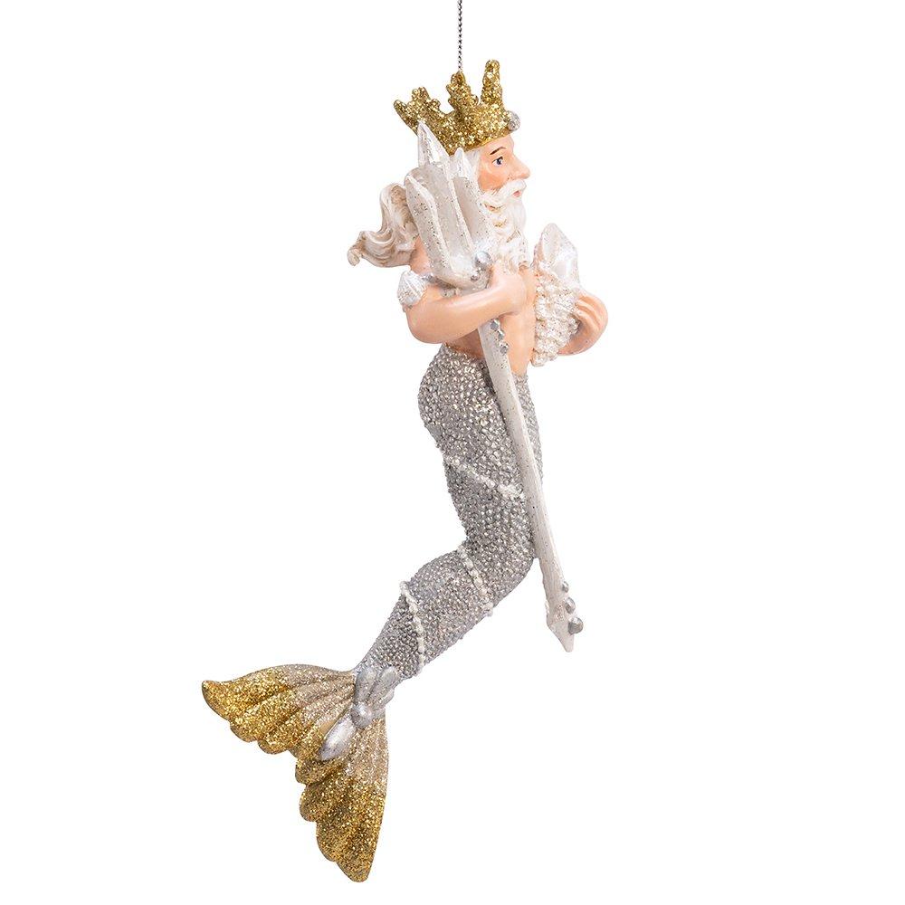 Kurt Adler 7-Inch King Neptune Ornament