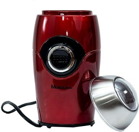 Maxell Power CE Molinillo DE Cafe ELECTRICO Especias Grinder MOLEDOR Rojo Brillo 200W Garantia (Rojo): Amazon.es: Hogar